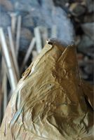 Paper furnace volcano by MissUmlaut