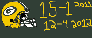 Packers 2011 Record and 2012 Record (Prediction) by Jae500