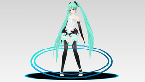 -MMD- Hatsune Miku Append figure DOWNLOAD by KasugaKaoru