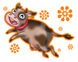 Chocolate Milk Cow by aliceapproved