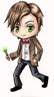 11th Doctor Chibi by Cantrona