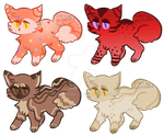 Valentines Kittens :OTA/Flatesale OPEN: by PilusAdopts