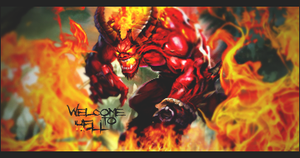 Welcome to Hell by MrRafael