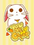 You Are My Carrot by GeorgieM-onster