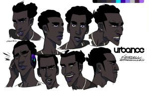 Kenzell Expressions by feerikart