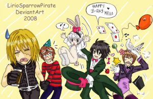 Happy B-Day Mello by LucLeon