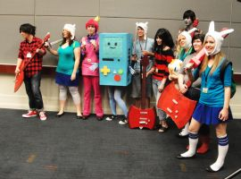 Adventure Time Group by ReverseFrownPhoto