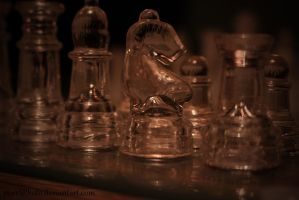 Glass Chess by purrSPhoto