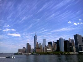 Downtown NYC by osenperilla
