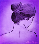 Female Head, Neck, Shoulders and Hair by RicGrayDesign