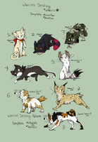 OPEN - Adoptables Cat breed Templates-Lowest Price by danituco