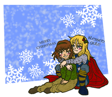 Winter 2010: Thor by elfgrove