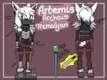 Artemis Biography by Fork-Tongued-Nemesis