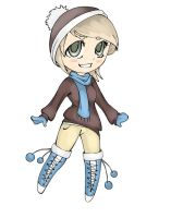 Winter Chibi (Colored) by Ibaru