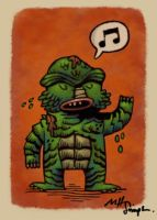 Creature from the Black Lagoon by taurus1977
