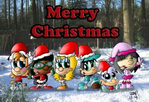 Merry Christmas 2014 by JimmyCartoonist