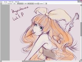 WIP(of next drawing) by KyouKaraa