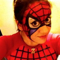 Spider-Man Face Paint by MajinNeda