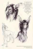 Ballpoint studies: Neng by pallanoph