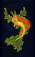 Leafy Sea Dragon Mermaid by Tiny-Owl