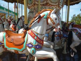 Carousel horse by DreamingOnlyOfYou