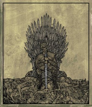 the dead throne by ayillustrations