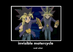 invisible motorcycle by animefan9545
