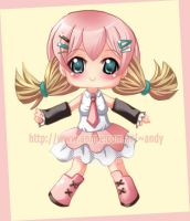 Chibi girl by andys