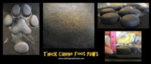 Thick Canine Foot Paws [FOR SALE] by stuffedpanda-cosplay