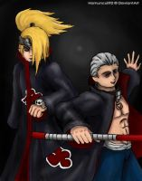 -Deidara and Hidan- by Homunculi92