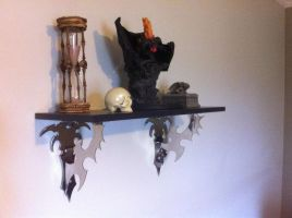 shelf brackets by Licataknives