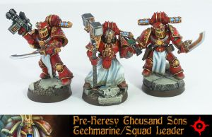 Pre-Heresy Thousand Sons Techmarine by Proiteus