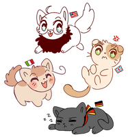 Neko Nations by Amphany