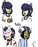 Noodle by Toxicmongoose