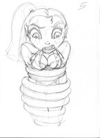 Malaya Tentacle Sketch 6 by ThePerilPimp