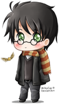 Harry 'Chibi' Potter by MilkyCup