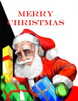 Santa with packages by PM-Graphix