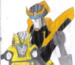 Prowl and Bumblebee PatPat by Yuki--Chan
