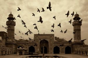 Mosque Wazir Khan by un-non
