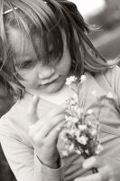 Her flowers... by Chansie