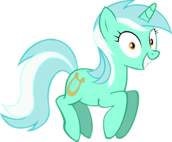 Happy Lyra by Vector-Brony