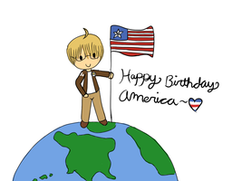 ::Hetalia - Happy Birthday America:: by Batty-Brandyn