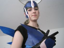 Arcee costume 2 by Primeval-Wings