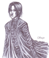 HP- Snape by andreanna