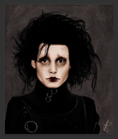 Edward Scissorhands by mitsukononame
