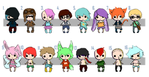 (Open) Mini Adopts Batch 2 by Every-Price-Adopts