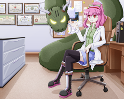 Himeko's Office Space by Damaged927