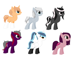 MLP: Fim Adoptables (Closed) by SweetTeaCutie