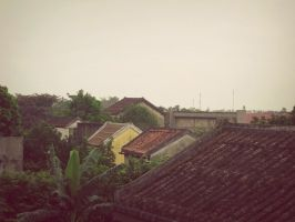 Faifo Impression --rooftops vii by Fennecia