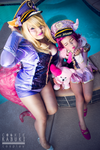 League Of Legends: Pop Star Ahri and  Annie by CookieKabuki